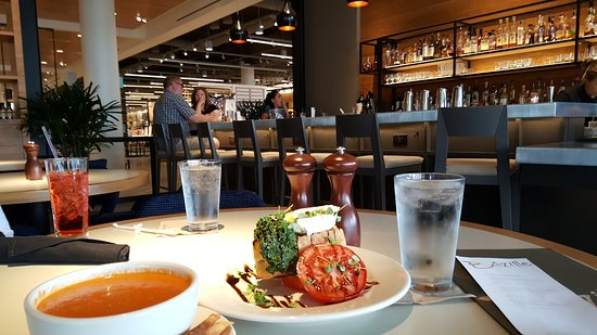 Nordstroms Restaurant Bazille At The Domain Austin Tx