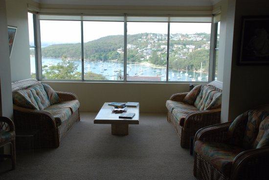 Fairlight, Australia: The living room
