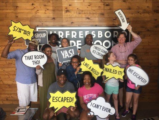 Murfreesboro Escape Rooms