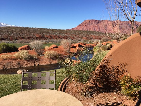 The Inn at Entrada: The view from my room.