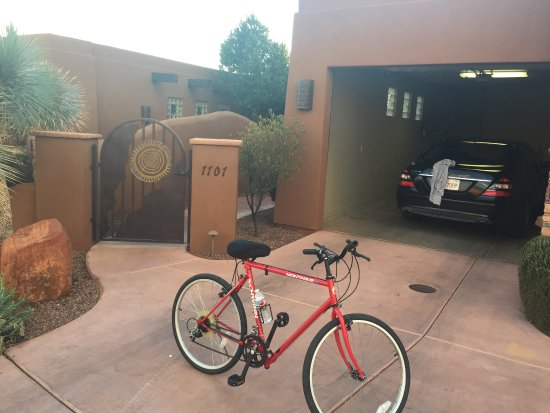 The Inn at Entrada: My private garage.