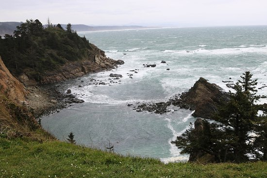 Cape Arago State Park : From Cape Arago parking lot