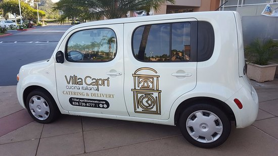 Del Mar, Califórnia: Villa Capri Delivery Vehicle