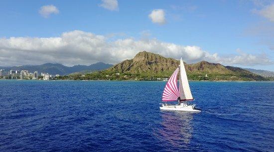Hawaii Catamaran Sailing