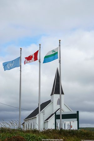 Red Bay, Canada: Church on site