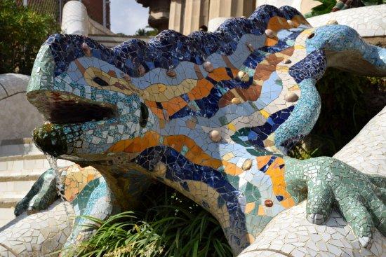 Salamander Picture Of Park Guell Barcelona Tripadvisor