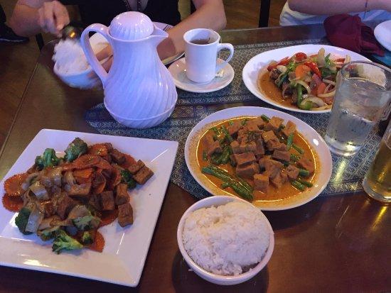 Urbana, Ιλινόις: Our meal