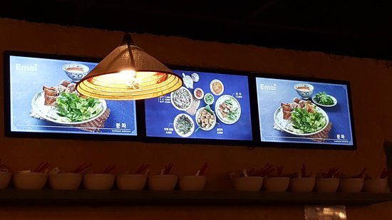 menu on the board ソウル emoiの写真 トリップアドバイザー
