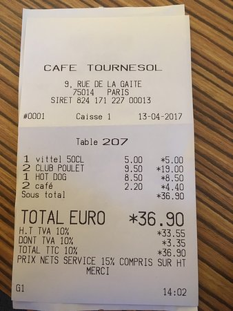 Le Tournesol cafe: photo0.jpg