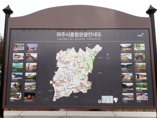 Gyeonggi-do, Südkorea: Jeju Map