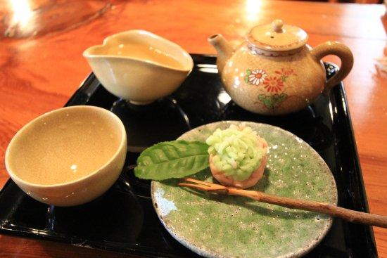 Higashiura-cho, Japan: 煎茶セット