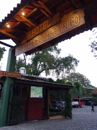 Панахачель, Гватемала: ホテル内にあります