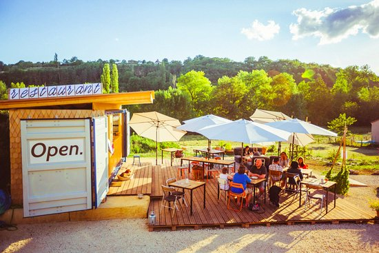 Plazac, Francia: terrasse