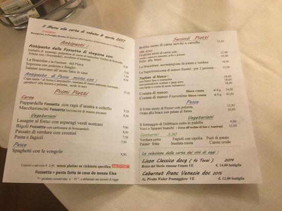 Musile di Piave, Italy: Braciolona, antipasto misto di pesce, tiramisù