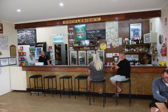 Eucla, Australia: the bar