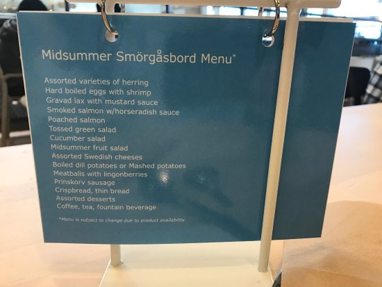 Special Menu Picture Of Ikea East Palo Alto Tripadvisor
