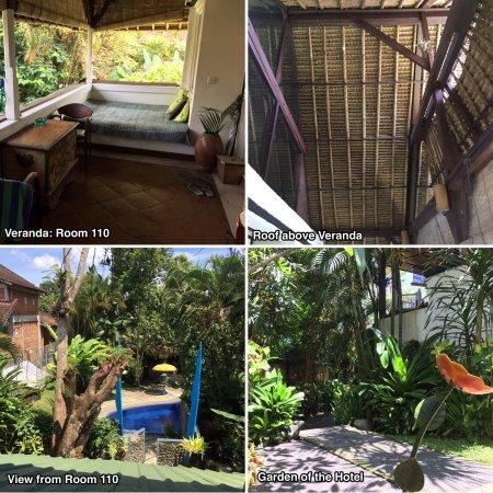 Gutes Hotel etwas außerhalb von Ubud