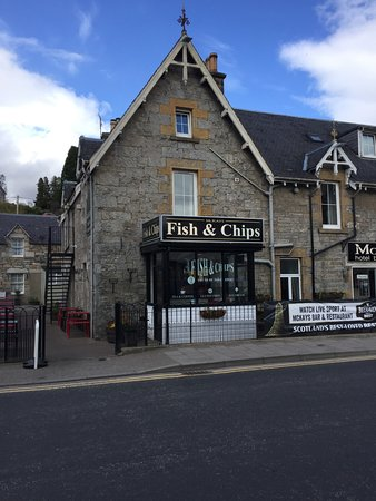 Chippy Ardchoille Fish and Chip Cafe