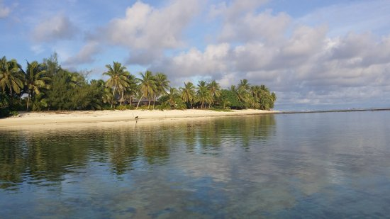 Titikaveka, Isole Cook: Photos March 2017, taken directly in front of Bella beach bungalows. Lovely place