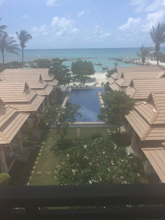 Poolsawat Villa: View from Room 34 - what's not to like?