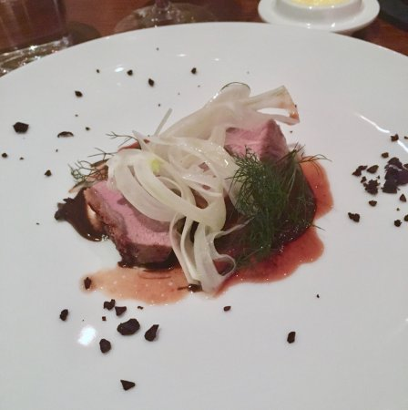 Marananga, أستراليا: Hutton Vale Lamb, fennel, fermented tomato, black garlic and anchovies