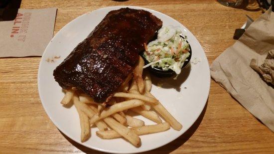 La Quinta, Califórnia: My dinner of ribs
