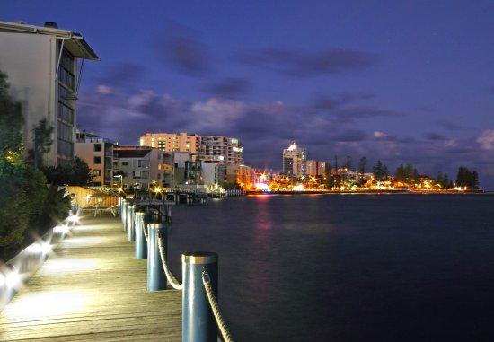 Caloundra, Αυστραλία: Waterfront boardwalk