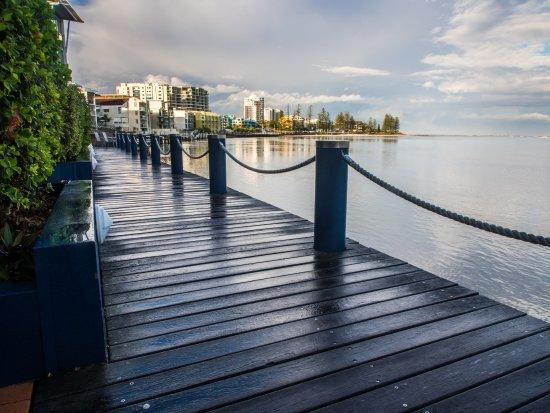 Caloundra, Αυστραλία: Beautiful in the rain or shine