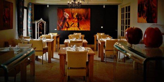 Hotel Bastide de Lourmarin: Salle des petit-déjeuners