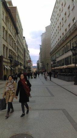 Vaci Street: Walking through fashion street