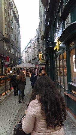 Vaci Street: Fashion street