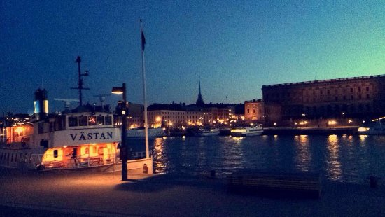 Lydmar Hotel : View outside harbour 🇸🇪
