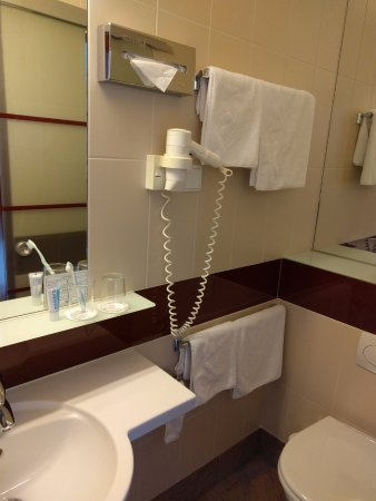 Austria Classic Hotel Wien: Small bathroom