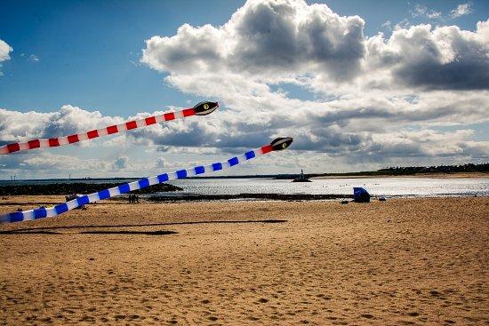 Newbiggin-by-the-Sea, UK: Easter Kite Weekend.