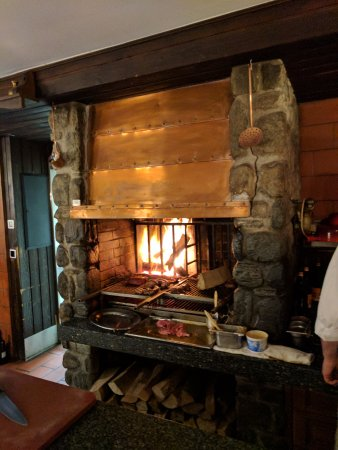 open fire for the meats picture of restaurant schaferstube rh tripadvisor co za
