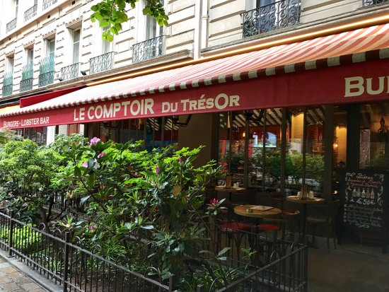 Le comptoir du tr sor picture of le tresor paris - Le comptoir paris restaurant reservations ...