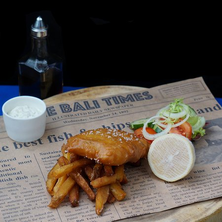 West Bali National Park, Indonezja: Fish & Chips
