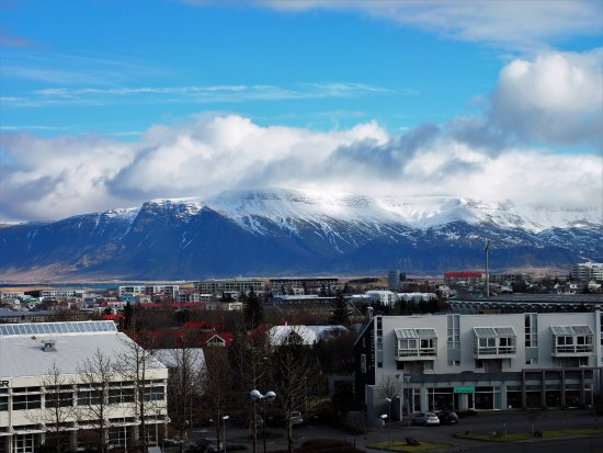 Hilton Reykjavik Nordica: View from 5th floor - next day