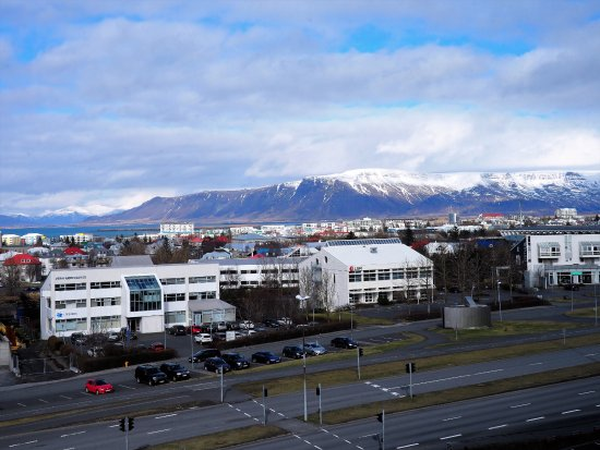 Hilton Reykjavik Nordica: View from the 5th floor elevator area