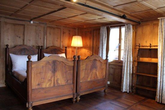 Bauen, Suisse : Das Mariazimmer mit den Betten von Alberik Zwyssig