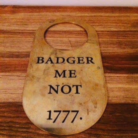 """Blandford Forum, UK: """"Badger Me Not"""""""