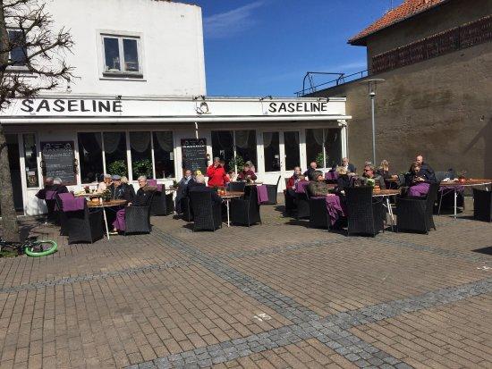 Gilleleje, Danimarca: Restaurant og cafe Saseline