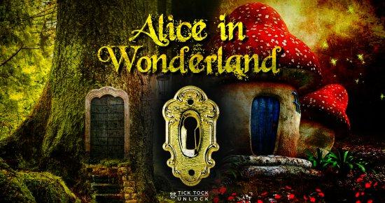 Tick Tock Unlock: Alice In wonderland