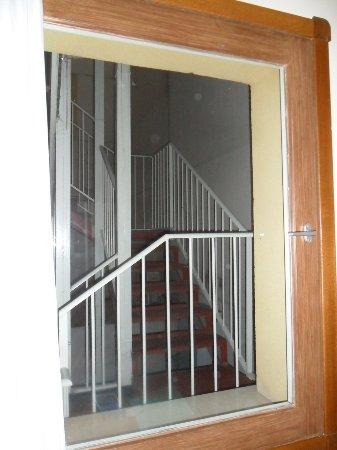 Hotel II Castillas: Der Blick aus dem Zimmer