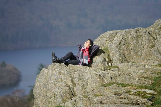 Bowness-on-Windermere, UK: chilling