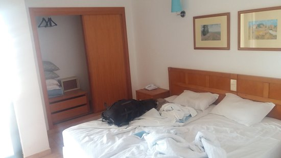 Aparthotel Oceanus: Bedroom