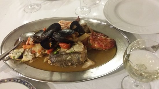 La Pagliarella : Seafood for two