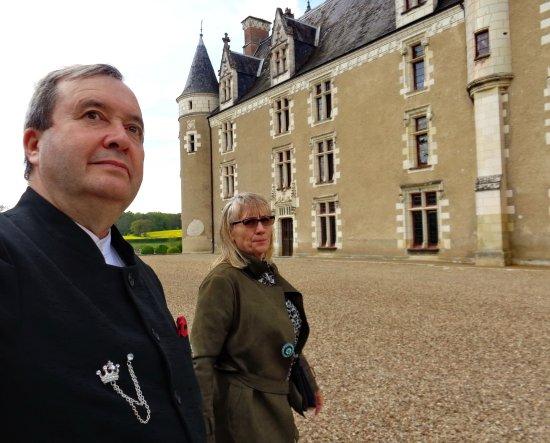Cere La Ronde, Γαλλία: visitons le château de Montpoupon le XIV avril MMXVII