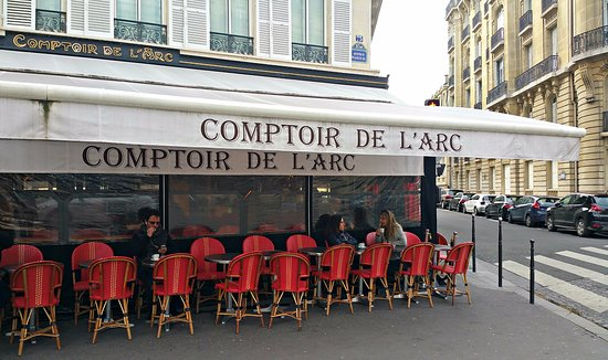 Comptoir de l 39 arc paris champs elysees restaurant - Le comptoir de l arc paris ...