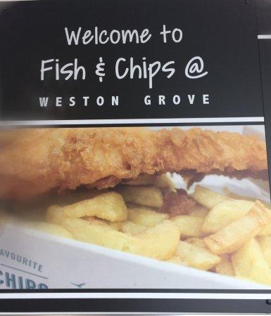 Fish and Chips at Weston Grove: photo0.jpg